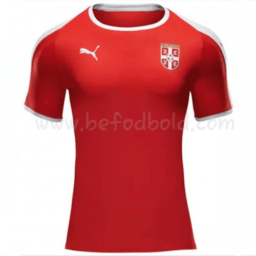 Serbia 2018 Short Sleeve Home Soccer Jersey