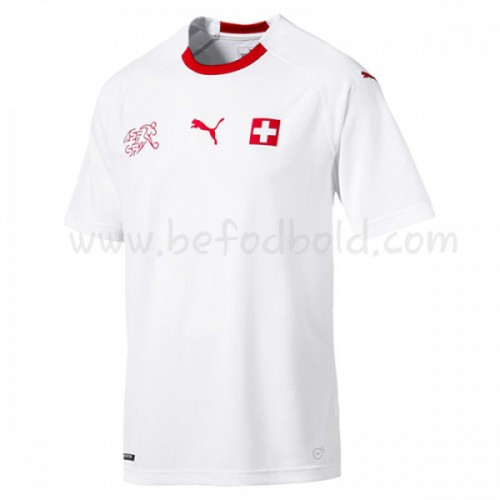 Switzerland 2018 Short Sleeve Away Soccer Jersey