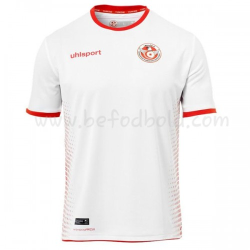Tunisia 2018 Short Sleeve Home Soccer Jersey