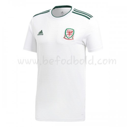 Wales 2018 Short Sleeve Away Soccer Jersey