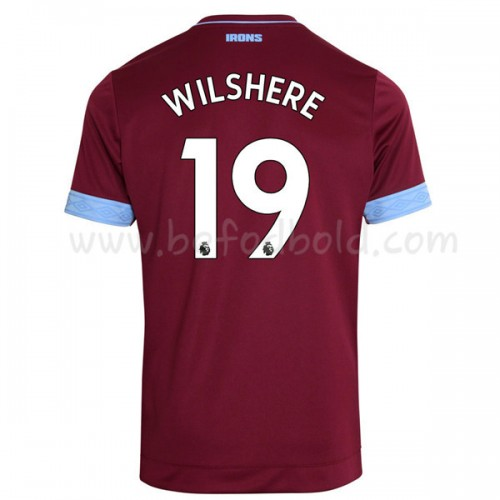 West Ham United 2018-19 Jack Wilshere 19 Short Sleeve Home Soccer Jersey