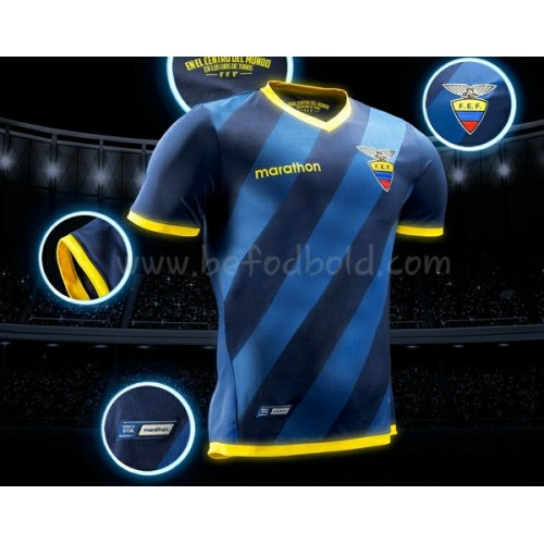 Ecuador 2018 Short Sleeve Away Soccer Jersey